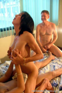 Horny asian Tranny WILLIS riding