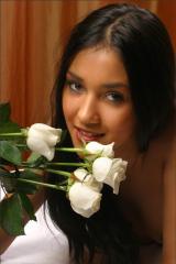 INDIA girl CARMEN posing