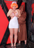 Cheeky Nurse Nikki Gets In Trouble With The Mad Monk