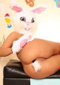 Bunnygirl gets all holes stuffed