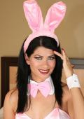 Nice pink easter bunny strips