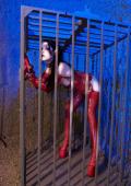 Submissiv girl waitng for her treatment.