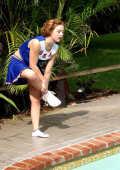 Sinful Cheerleader Outdoor Solo