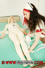 Red haired Latex Nurse 4