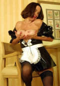 Sexy Mature Maid Action