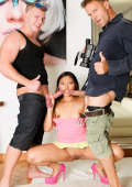 Porn casting for Asian cutie May Thai