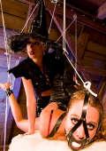 Lesbian domination for Halloween