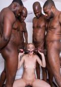 Rebecca gets a lot of black dicks