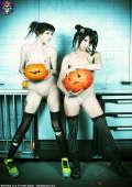 Hot petite naked Emo Goth girls