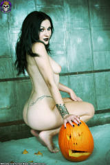 pale gothic girl naked