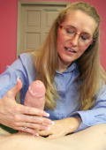 Milf Sara gives Joey an awesome tugjob