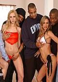Kellys interracial anal creampie orgy