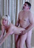 Franciska fucking with older man.