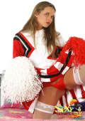 Fuckable blonde cheerleader