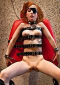 Hard punishment for PIRAT GIRL