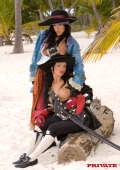 Hot and horny Pirat girls