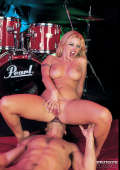 Hard Rock babe fucked by drummer