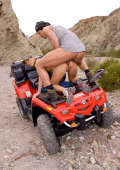 Anal and quad riding