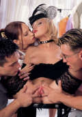 Kinky group sex adventure in Miami