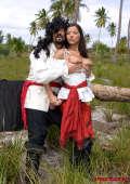 Robinson and pirate girl