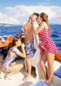 Boat fucking on the Seychelles