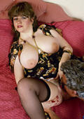 Ugly fat bitch gets pussy licked and fucked