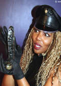 Nice strapon domination from black Domme