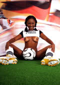 Girl from Trinidad loves to play soccer