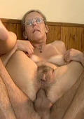 Granny Get Her Hairy Old Ass Fucked.