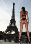 Sexy girl in Paris