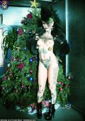 Gotic slut for christmas